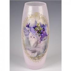 Стеклянная ваза Леди
