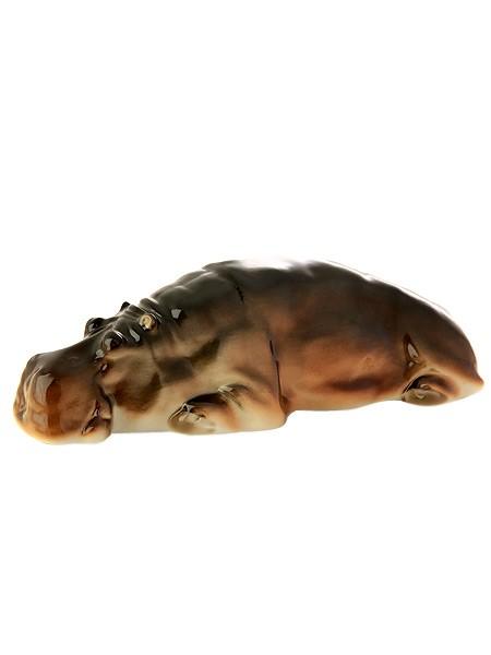 Скульптура Бегемот (Императорский фарфоровый завод)
