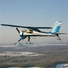 Сертификат Полет на самолете Wilga 35 (20 минут)