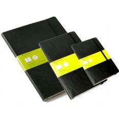 Черная нелинованная записная книжка Moleskine Classic Soft