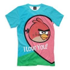 Футболка Angry Birds in love