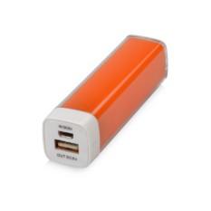 Оранжевое портативное зарядное устройство Ангра