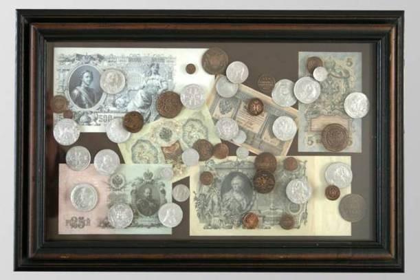 Настенное панно Деньги России