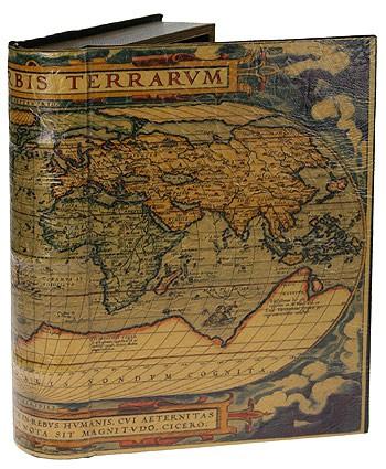 Набор шкатулок-фолиантов Первая карта мира из 2-х штук