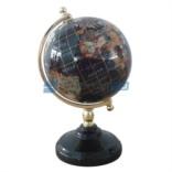 Глобус из полудрагоценных камней Путешествия