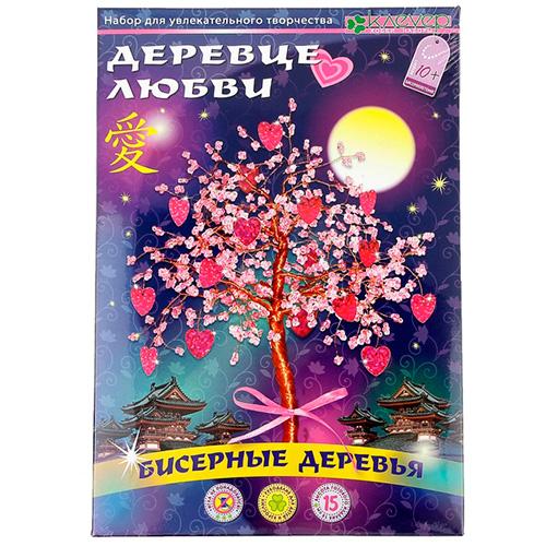 Набор для создания бисерного дерева «Деревце любви»