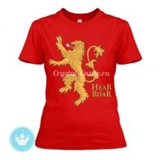 Женская футболка Дом Ланистеров
