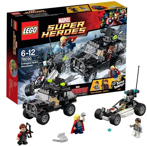 Конструктор - LEGO Super Heroes Гидра против Мстителей™