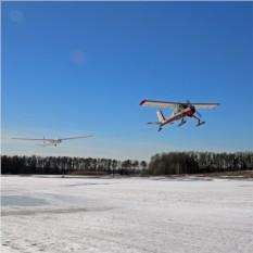 10 минут полета на планере Blanik L-13