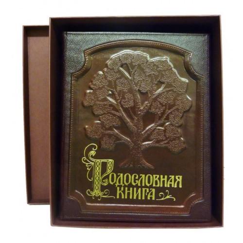 Родословная книга в картонной коробке а
