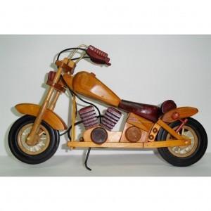 Статуэтка Большой деревянный мотоцикл