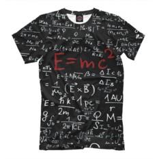 Футболка E=mc