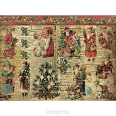 Бумага для декупажа Craft Premier Санта