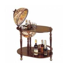 Глобус-бар со столиком Барон Мюнхгаузен