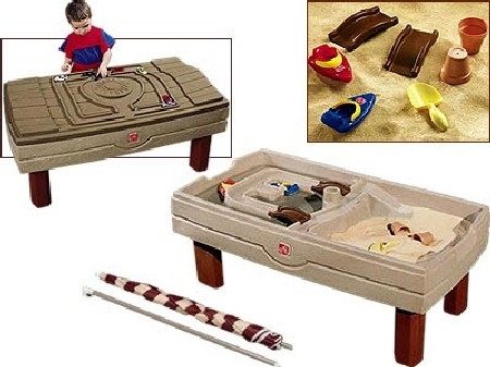 Столик для игр с песком