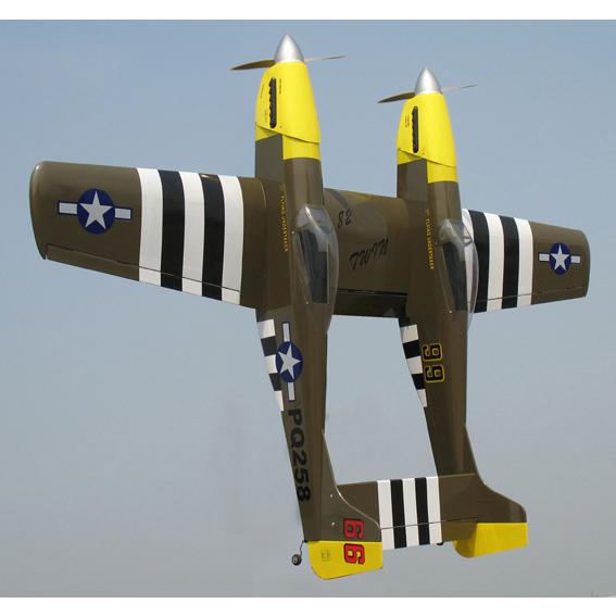 Радиоуправляемый самолет P-82 Twin Mustang-40