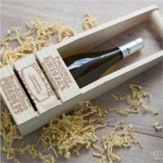 Деревянный короб «Настроение праздника»