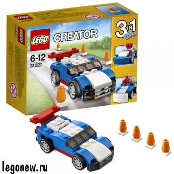 Конструктор Синий гоночный автомобиль Lego
