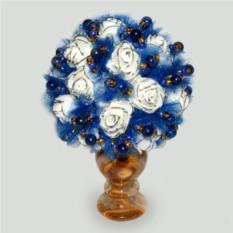 Цветы из лазурита Грезы любви