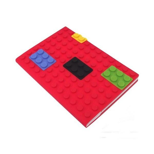 Блокнот Лего, большой, красный