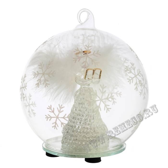 Новогоднее украшение со светодиодом Ангел