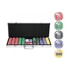 Покерный набор La Pascala 500 фишек