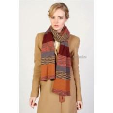 Оранжевый женский шарф Missoni