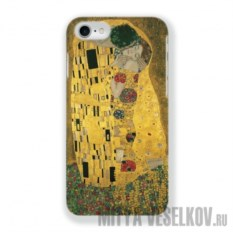 Чехол для iPhone 7 Поцелуй Климта