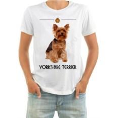 Мужская футболка Йоркширский терьер