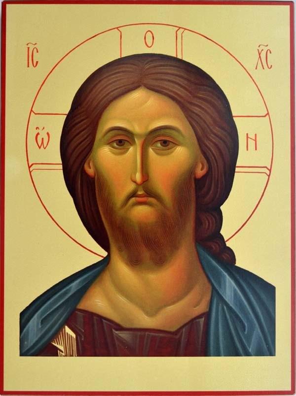 Икона на доске Иисус Христос Спаситель