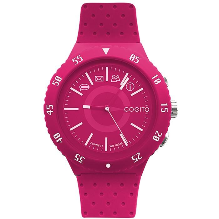 Розовые умные часы Cogito Pop Watch