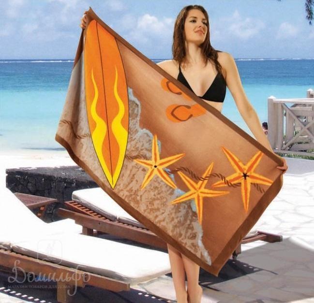 Полотенце пляжное Surf Fish