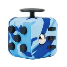 Антистресс Fidget Cube (цвет: камуфляж синий)