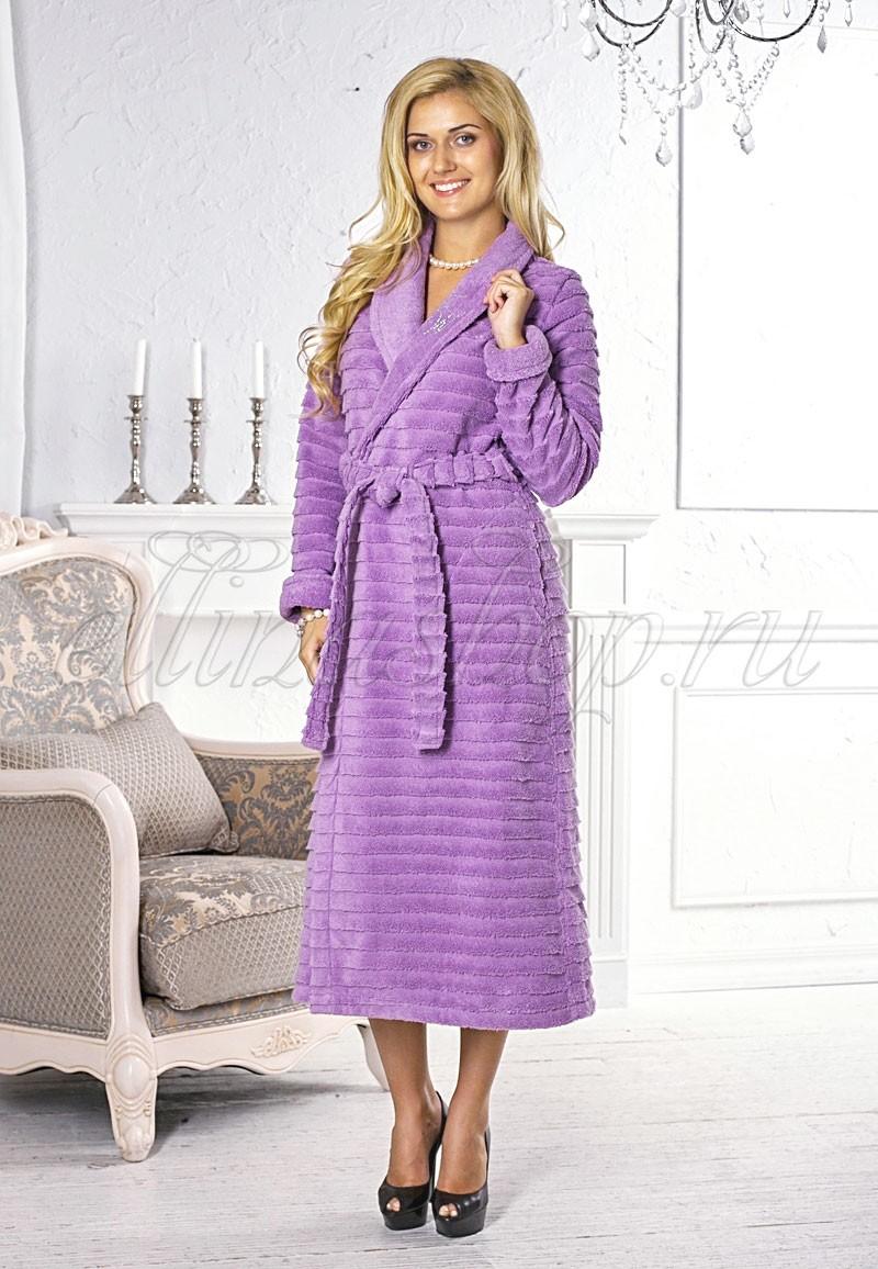 Женский махровый халат FW