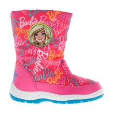 Розовые сноубутсы Barbie