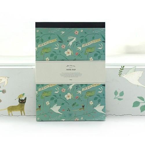 Блокнот Willow Story (цвет mint)