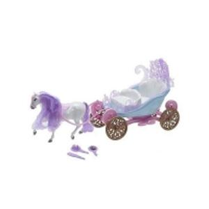 Мини-карета с лошадью