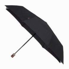 Автоматический складной зонт Wood classic (цвет - черный)