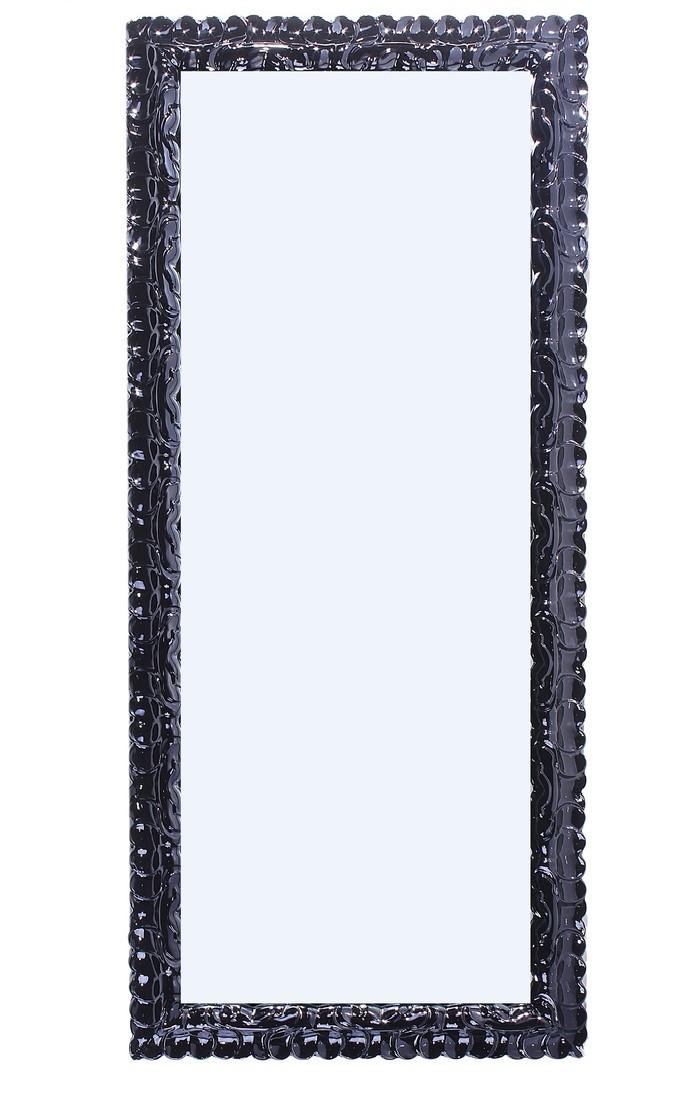 Интерьерное зеркало (черное, дерево)