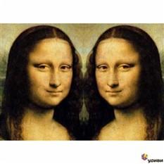 Обложка для паспорта Мона Лиза