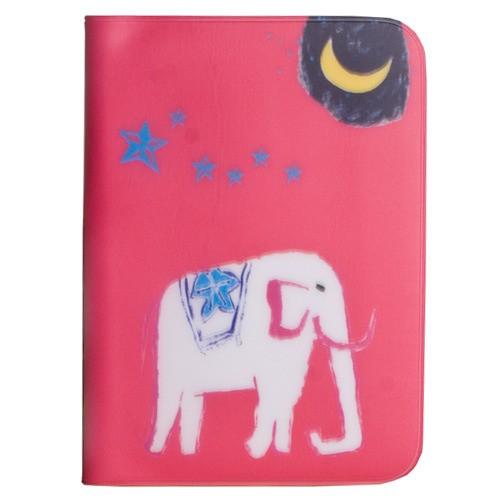 Обложка для паспорта Moon & elephant