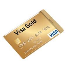 Флеш-карта USB 2.0 на 8 Gb в форме кредитной карты