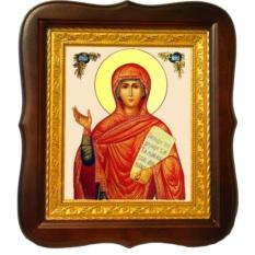 Святая Анна Пророчица. Икона на холсте.