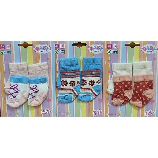 Носочки для куклы Baby born