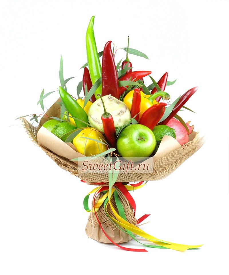 Букет из фруктов и овощей Pepper