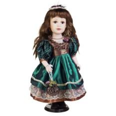 Фарфоровая кукла Кареглазая малышка
