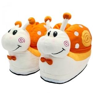 Тапочки Snails (оранжевые)