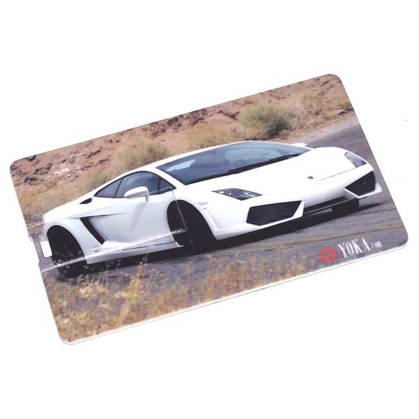 USB карта 8GB автомабиль машина белая Эврика