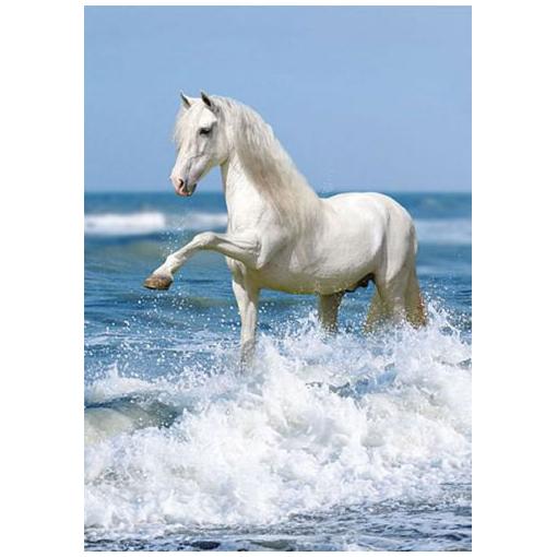 Пазл «Лошадь и прибой»
