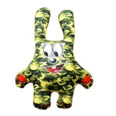 Подушка-игрушка Зайчик во всеоружии